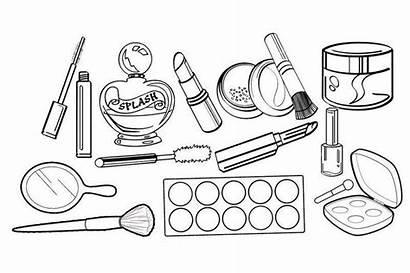 Coloring Makeup Princess Drawing Kit Sheet Cosmetics