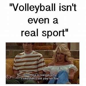 Maybe a little ... Volleyball Cheers Quotes