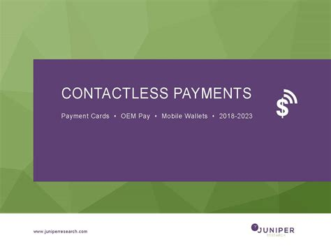 Contactless Mobile Payment by Contactless Payments Research Report Fintech Payments