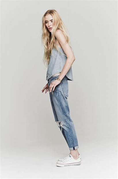 Jeans Boyfriend Bone Rag Moss Wholes Skirts