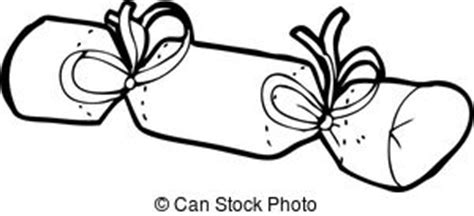 christmas cracker clip art black and white cracker illustrations and clip 4 013 cracker royalty free illustrations