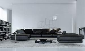 canape contemporain design idees de decoration With canapé contemporain design