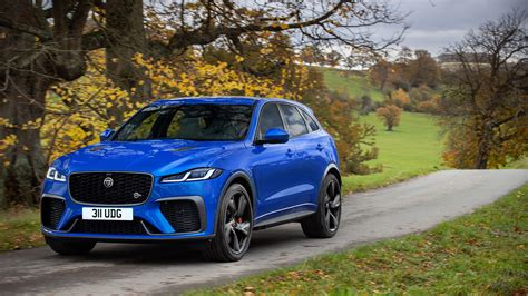 2021 Jaguar F-Pace SVR revealed - fresh face and tech for ...
