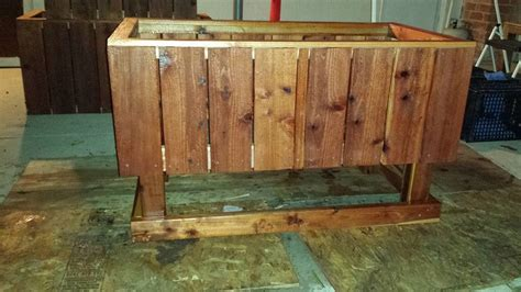 redwood raised garden beds redwood elevated raised bed planter curtis custom planters