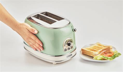 Tostapane Vintage by Toaster Vintage 2 Fette Verde Ariete