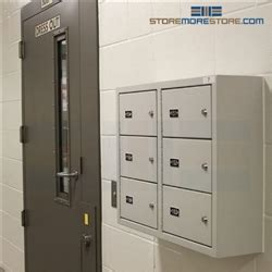 gun wall lockers police station ammo storage small