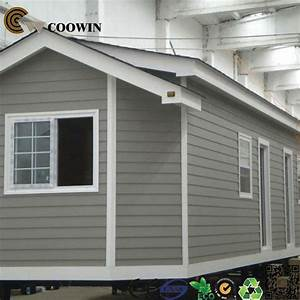 China Wpc Prefab Cladding Panel House Outdoor  Tf