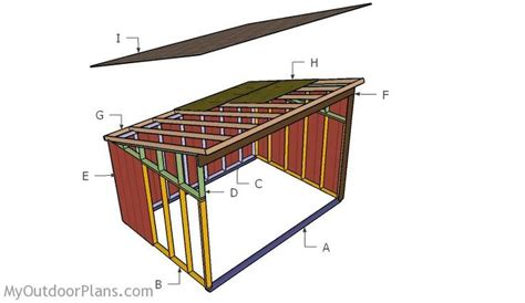 10x14 barn shed plans building a 10x14 run in shed the farm