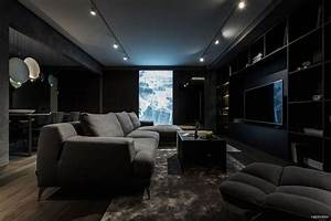Exquisite modern dark interiors adorable home for Interior decorating dark rooms