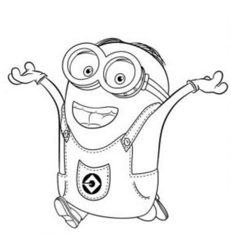 free coloring pages of oj minion