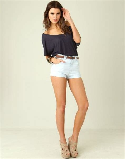 White High Waisted Shorts Bringing Back The Old And Classic Style | Camo Shorts