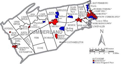 File:Map of Cumberland County Pennsylvania With Municipal ...
