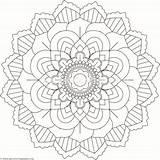 Coloring Mandala Getcoloringpages Coloringpages Zszywka sketch template