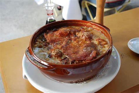 cuisine carcassonne the menu cassoles cassolettes and