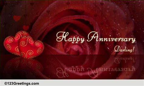happy anniversary darling    ecards greeting cards