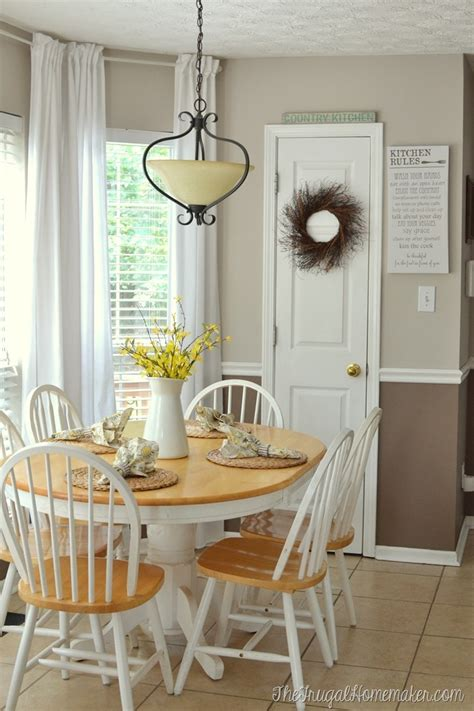 sailors country kitchen new paint in the breakfast area 5048