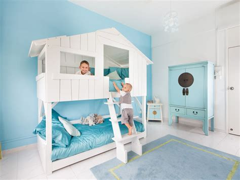 Awesome Kids Treehouse Bunk Beds