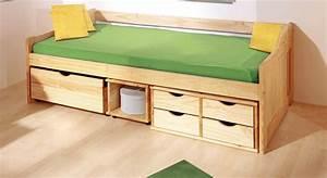 Betten Mit Stauraum 90x200 : schubkasten einzelbett anna in 90 x200 cm ~ Bigdaddyawards.com Haus und Dekorationen