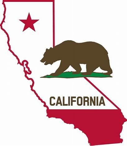 California Flag Outline Solid Svg