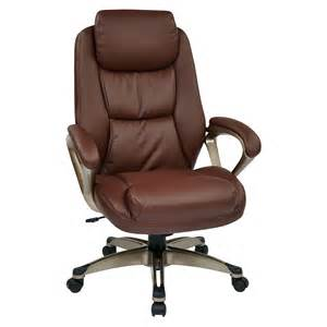 office executive leather chair reviews wayfair supply