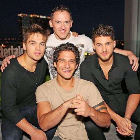 image teen wolf news sdcc dylan sprayberry tyler posey