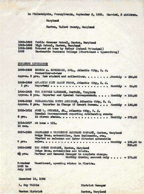 Personalized Resume by L Roy Willis Resume Page 7