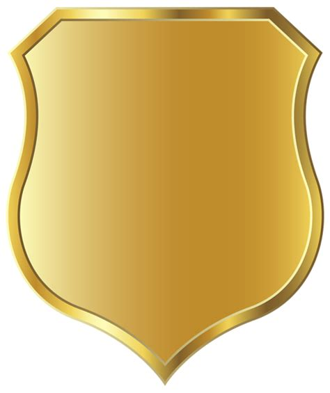 golden badge template png clipart image gallery