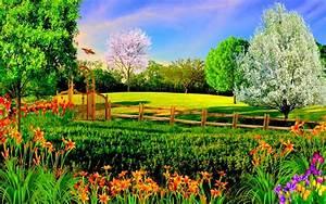 Summer Nature Backgrounds Hd Desktop 10 HD Wallpapers ...
