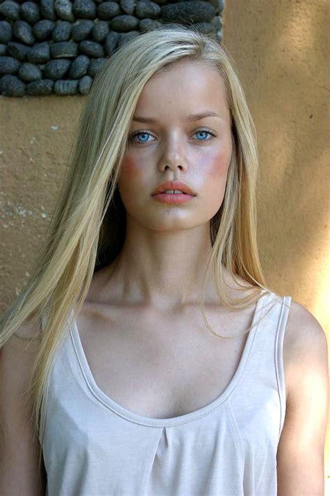 Frida Aasen  German Model A Very Germanic Face Lovely