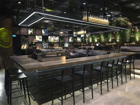 bureau bar a tapas design de mode noir comptoir de bar design comptoir de bar