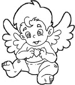 Baby Angel Coloring Pages