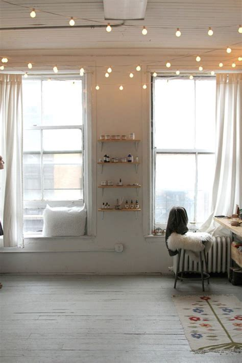 Best Ideas About String Lights Bedroom Sensi With Hanging