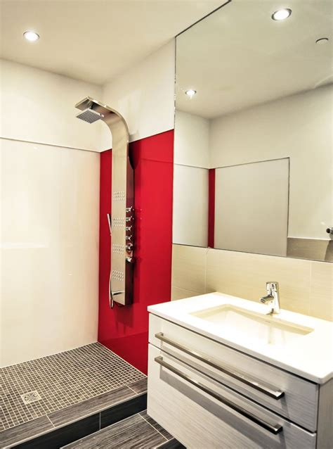add  bright  modern lustrolite panel   shower