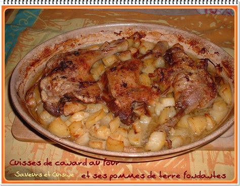 cuisiner les cuisses de canard cuisses de canard au four et ses pommes de terre fondantes