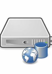 File Server-web-database Svg