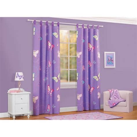 Purple Blackout Curtains Walmart by American Butterfly Drapes Bought These From My