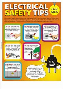 Children safety posters safety poster shop for Electrical safety posters