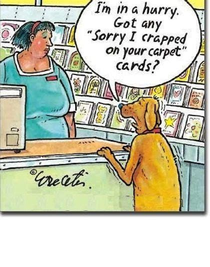 crap   carpet funny dog jokes cartoon jokes