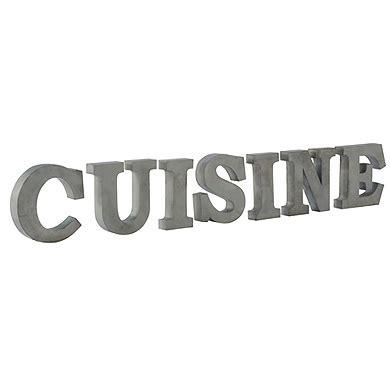 lettre decorative cuisine déco cuisine lettre exemples d 39 aménagements