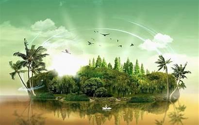 Fantasy Wallpapers Stunning Desktop Background Paradise Nature