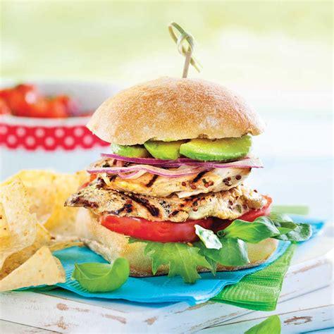 cuisine recettes pratiques burgers de poulet émincé recettes cuisine et nutrition pratico pratique