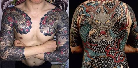 idees de tatouages japonais hommefemme signification