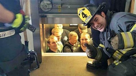 Say Cheese! Firefighters Have Some Fun While Rescuing Cops