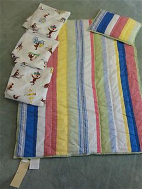 nwt pottery barn kasey toddler bedding sham 3 curious george crib sheets kid nurseries
