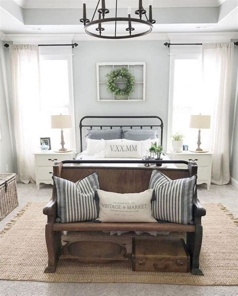 farmhouse master bedroom 60 rustic farmhouse style master bedroom ideas 55 Rustic