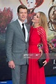 Ed Speleers and wife Asia Macey attend the European Film ...