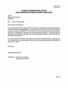 Termination Letter Format For Absconding Employee Choice Image  letter format formal example
