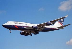 File:British Airways Boeing 747-400; G-BNLC@LHR;04.04.1997 ...