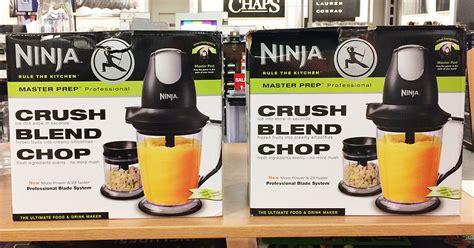 kohls ninja master prep professional blender   regularly  hipsave