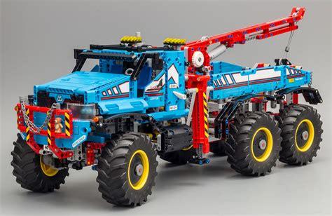 review 42070 6x6 all terrain tow truck lego technic